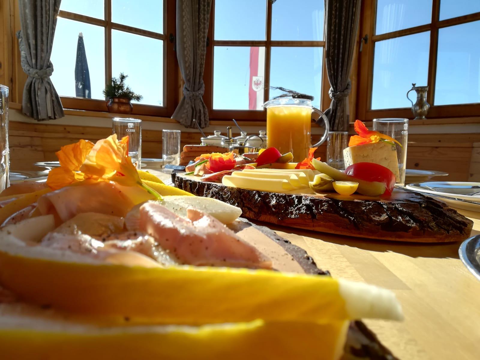 Hüttenfrühstück